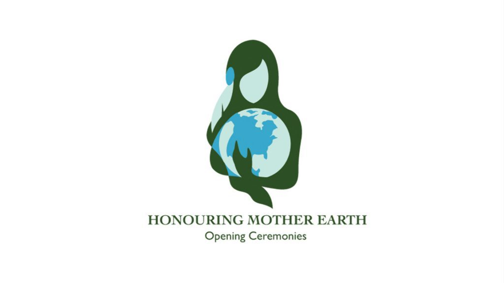 Honouring Mother Earth Opening Ceremonies logo
