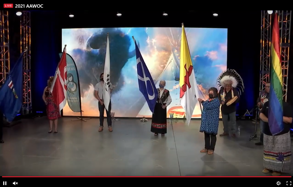 AAWOC Grand Entry
